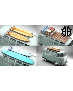 Volkswagen T1 Samba 1963 Accessories
